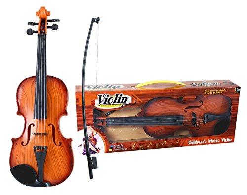 Rappa Tolle Spielzeug Violine Geige für Kinder ab 3 Jahren - in Einem Kartonkoffer mit Griff