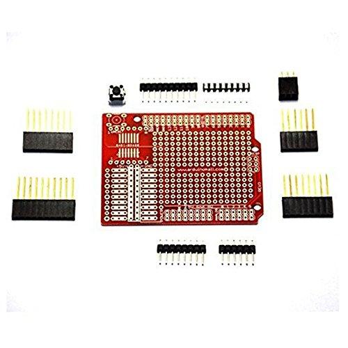 Arduino Uno R3 Mega2560 328P Prototyp Erweiterungsplatine Diy Diy Kit Prototyp-Schild Protoshield Set für Arduino Uno R3 1280 2560 Mega 328P