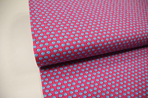Stoff / Meterware / ab 25cm / beste Jersey-Qualität / Jersey Hilco Sonnenbrillen hellblau auf pink