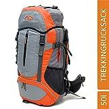 MONTIS Moana 50 Unisex Trekking-Rucksack, Wander-Rucksack & Reise-Rucksack in einem, ermöglicht Dank Regenschutz auch Bike- & Campingtouren, im modernen Look mit viel Extras & Belüftungssystem