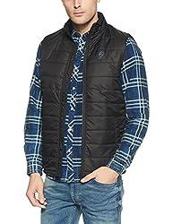 Pepe Jeans Mens Regular Fit Jacket (8907557338612_PIMT200801BLACKS)