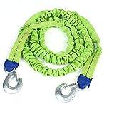 Auto-LKW-Dringlichkeit Grün elastischen Nylonband Abschleppseil 7.2Ft Länge 2 Tonnen