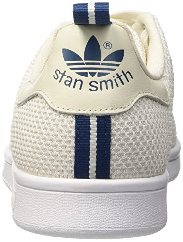 adidas Stan Smith Ck, Mocassins Homme Multicolore (Cwhite/Ftwwht/Shablu)
