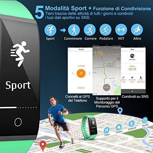 Zoom IMG-1 mpow fitness tracker ip67 orologio