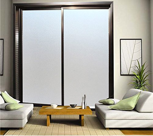 Aingoo Frosted Non-Adhesive Static Cling Window Film for Glasses 17.7*78.7in, 45*200cm