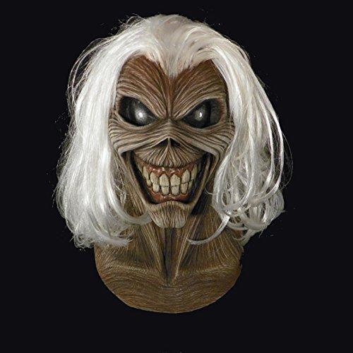Générique–mahal697–Máscara látex Adulto Killers–Iron Maiden–Talla única