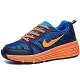 Baskets avec roulettes automatiques pour enfants - Bleu foncé Orange - Tailles varies