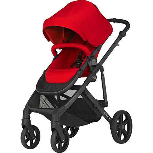 Britax B-READY Kombi-Kinderwagen, Kollektion 2019, Flame Red
