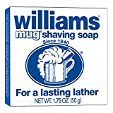 #7: Williams Mug Shaving Soap, For Soft and Smooth Skin, 1.75 Ounce Bar
