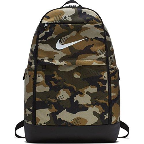 Nike Nk Brsla M Bkpk-AOP, Mochila Unisex Adultos, (Neutral Olive/Black /), 15x24x45 cm (W x H x L)