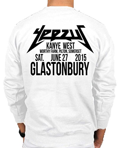 Ulterior Clothing Yeezus Glastonbury Sweatshirt