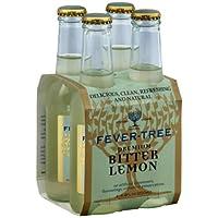 Fever-Tree - Mezcladores de limón amargo Premium - 4Pack