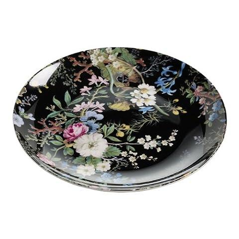 Maxwell & Williams WK01520 Kilburn Teller, Kuchenteller, Frühstücksteller, Midnight Blossom,