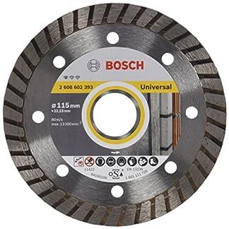 Bosch 2 608 602 393 – Disco tronzador de diamante Standard for Universal Turbo (115 x 22,23 x 2 x 10 mm)