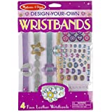 Melissa & Doug Design-Your-Own Wristbands: Arts & Crafts - Kits