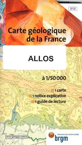 Carte géologique : Allos par  Cartes BRGM