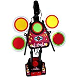 Amazia Electronic Junior Jazz Drum Beat Set With Mp3 Plug-In + Microphone + Pedal Mechanism + Adjustable Heights(multicolor)