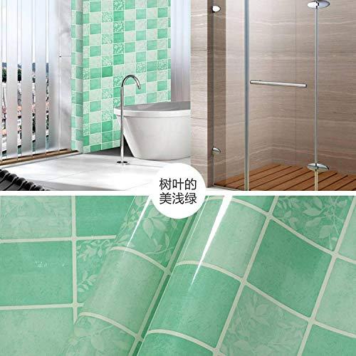 lsaiyy Ölbeständige Aufkleber Küchenaufkleber Hochtemperatur wasserdicht und ölbeständig Öfen Fliesenaufkleber Tapete-60CMX2M