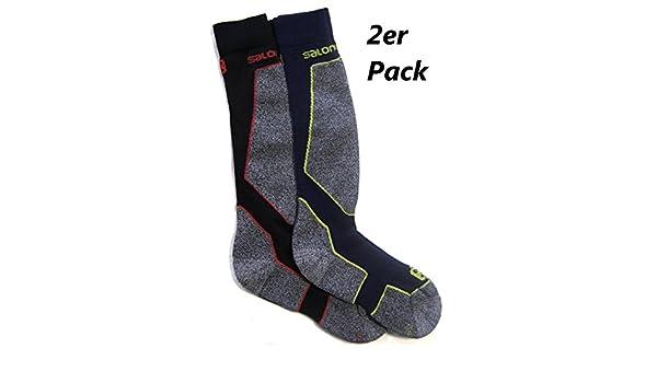 Salomon Ski Tech Socken 2er Pack: : Sport & Freizeit