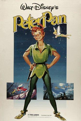 Peter Pan Plakat Movie Poster (11 x 17 Inches - 28cm x 44cm) (1953) B