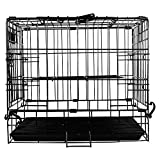 Jainsons Black Folding Metal Pet Dog Puppy Cat - Best Reviews Guide