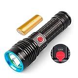 Nitebeam R50 Taschenlampe Cree LED USB aufladbare LED Taschenlampe inkl Akku