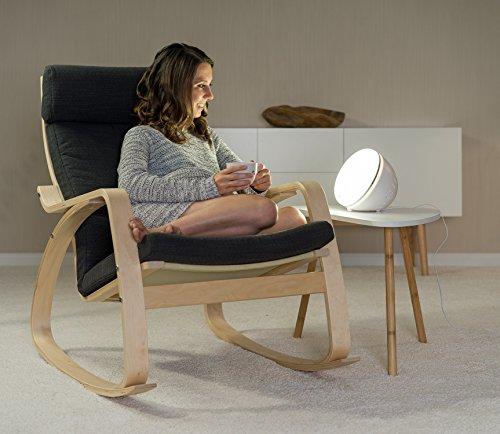Reer Tageslichtlampe, 10.000 Lux, inkl. Stimmungslicht tägliche Lichtdusche für mehr Wohlbefinden