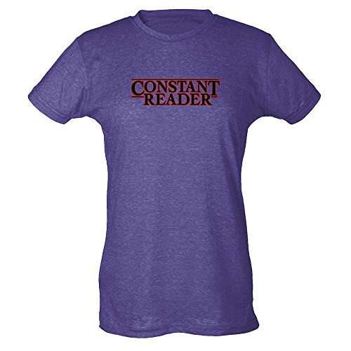 Pop Threads Constant Reader Womens T-Shirt by