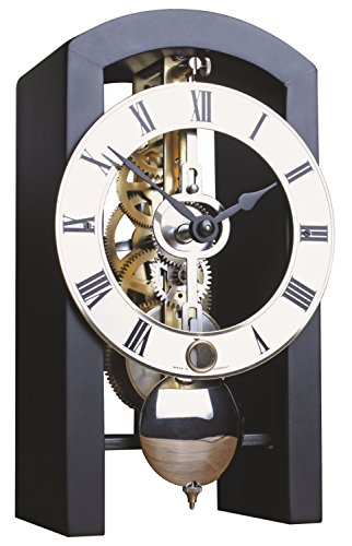 Di alta qualità orologio da tavolo meccanico con chiave ascensore Hermle-Boston (Scheletro Orologio Da Tavolo)