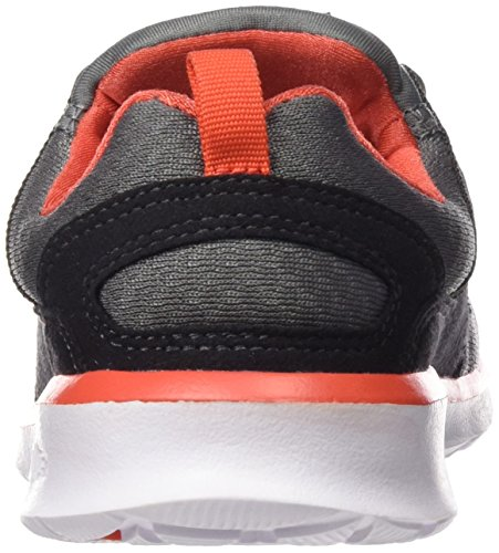 DC Universe Heathrow, Scarpe da Ginnastica Uomo Grey/Orange/Grey