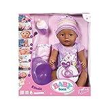 Baby Born 30863–muñeco Violet–9funciones y accesorios...