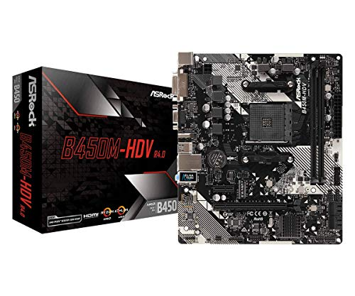 Asrock B450M-HDV R4.0 - Placa Base AMD