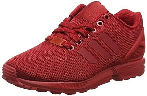 adidas Zx Flux, Sneakers Basses Mixte Adulte, Rouge , 38 2/3 EU