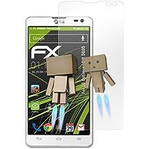 atFoliX Protección de Pantalla LG Optimus L9 II (D605) Lámina protectora Espejo - FX-Mirror con efecto espejo