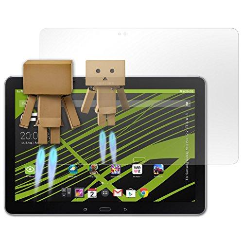 atFolix Displayfolie kompatibel mit Samsung Galaxy Note Pro 12.2 LTE & Wi-Fi Spiegelfolie, Spiegeleffekt FX Schutzfolie (12 Tablet Pro 2 Samsung Case)