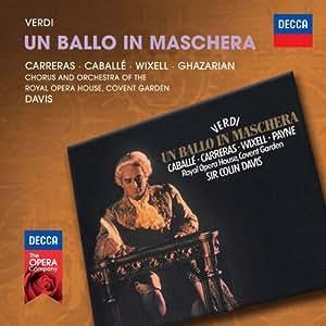 "Verdi : Un ballo in maschera (""Un bal masqué"")"