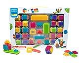 SEEKO Blocks BA4005 Konstruktionsspielzeug Combo Cubes und Blocks, 140 Stück