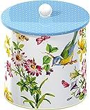 Creative Tops Katie Alice English Garden Biscuit Tin Barrel, Multi-Colour