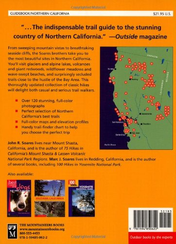 100 Classic Hikes in Northern California