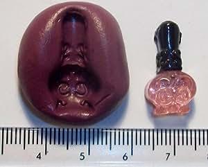 Moule en silicone Décoration de gâteau Motif bouteille de parfum