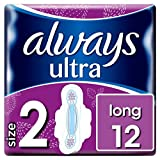 Always Ultra Long Sanitary Towels With Wings 12 Pack