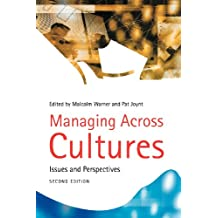 Managing Across Culture: Issues and Perspectives
