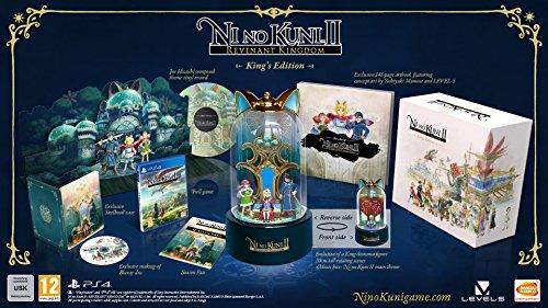 Edición coleccionista de Ni No Kuni II: El Renacer de un Reino para PS4