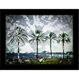 ArtzFolio Palm Trees Along The Coast In ...