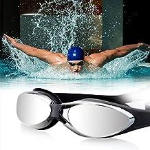 Gafas de Natación OUTAD Gafas de Agua 100% Protección Ultravioleta,Visión de 180 Grados - Color Azul
