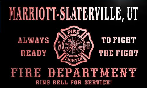 qy67906-r-fire-dept-marriott-slaterville-ut-utah-firefighter-neon-sign
