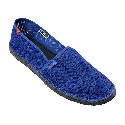 Chaussure Espadrilles Havaianas Origine Cool Listra Blue Star Bleu