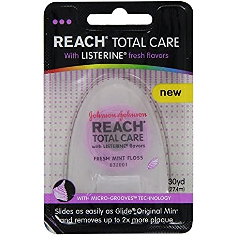 Reach Total Care floss with Listerine Fresh Flavors, 30-Yard by Reach