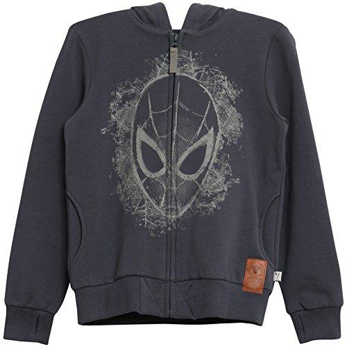 Wheat Jungen Kapuzenpullover Sweatshirtjacke mit Kapuze Spiderman Maske Blau (Greyblue 1292), Herstellergröße:3y/ ()