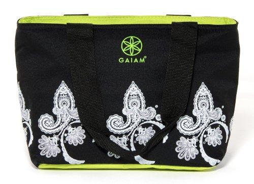 gaiam-teatime-tote-black-paisley-30885-by-allsop